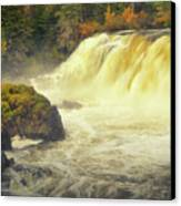 Pisew Falls Canvas Print