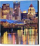 Pittsburgh 2 Canvas Print by Emmanuel Panagiotakis