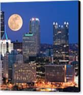 Pittsburgh 6 Canvas Print by Emmanuel Panagiotakis