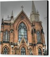 Pittsburgh Cathedral Canvas Print by David Bearden