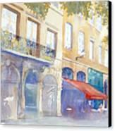 Place De La Baleine Canvas Print