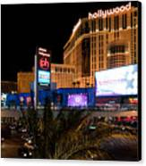 Planet Hollywood Hotel Canvas Print by Andy Smy