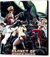 Planet Of Dinosaurs, 1-sheet Poster Canvas Print