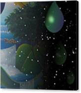 Planet Water  Canvas Print
