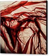 Plastic Bag 09 Canvas Print by Grebo Gray