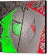 Plastice Aces Canvas Print