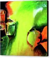 Play With Clay Canvas Print by Farah Faizal