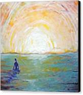 Pleased To Drown Canvas Print