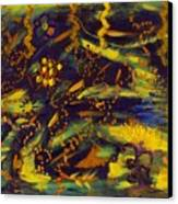 Plight Of The Lightning Bug Canvas Print
