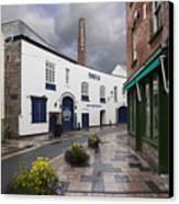 Plymouth Gin Distillery Canvas Print by Donald Davis