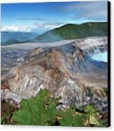 Poas Volcano Canvas Print