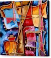 Pocalul De Nisip Canvas Print