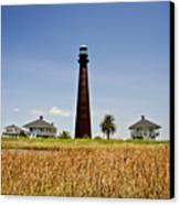 Point Bolivar Lighthouse Canvas Print