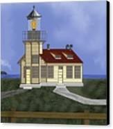 Point Cabrillo California Canvas Print