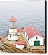Point Reyes Lighthouse At Point Reyes National Seashore Ca Canvas Print by Christine Till