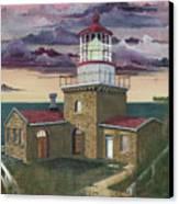 Point Sur Canvas Print by James Lyman