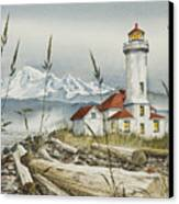Point Wilson Lighthouse Canvas Print by James Williamson
