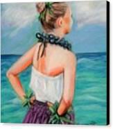 Poipu Hula Canvas Print