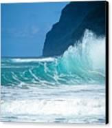 Polihale Beach  Canvas Print