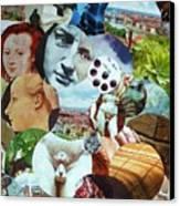 Polis Rotunda Canvas Print by Michel Croteau