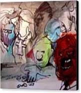 Political Leadership Canvas Print