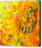 Poloplayer Canvas Print