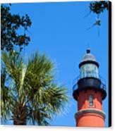 Ponce Del Leon Inlet Florida Canvas Print