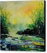 Pond 459060 Canvas Print
