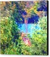 Pond Overlook Canvas Print