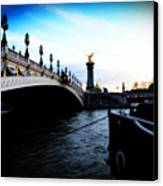 Pont Alexandre Canvas Print by Cabral Stock