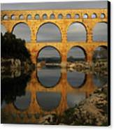 Pont Du Gard Canvas Print by Boccalupo Photography