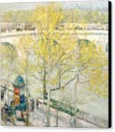Pont Royal Paris Canvas Print