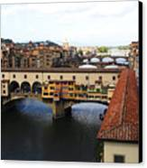 Ponte Vechio Florence Canvas Print