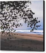 Pools Beach Canvas Print
