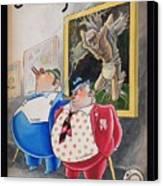 Poor Mexico.... Rich Politicians. Canvas Print
