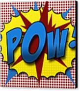 Pop Pow Canvas Print by Suzanne Barber