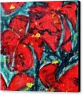 Poppies - Www.jennifer-d-art.com Canvas Print