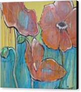 Poppies 3 Canvas Print