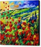 Poppies 78 Canvas Print