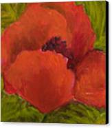 Poppies Diptych A Canvas Print by Rita Bentley