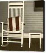Porch Rocker Canvas Print