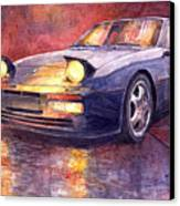 Porsche 944 Turbo Canvas Print by Yuriy  Shevchuk