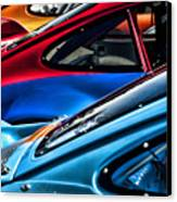 Porsche Fins Canvas Print