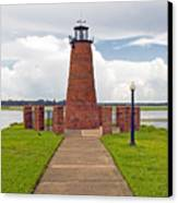 Port Of Kissimmee Lighthouse In Central Florida Canvas Print