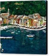 Portifino Italy Canvas Print