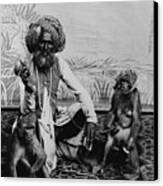 Portrait Of An Indian Fakir Canvas Print