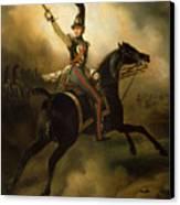 Portrait Of Friedrich Heinrich Canvas Print