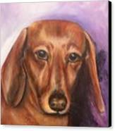 Portrait Of Fritz - Commissions Accepted Canvas Print