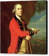 Portrait Of General Thomas Gage Canvas Print by John Singleton Copley