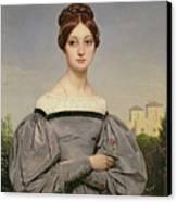 Portrait Of Louise Vernet Canvas Print